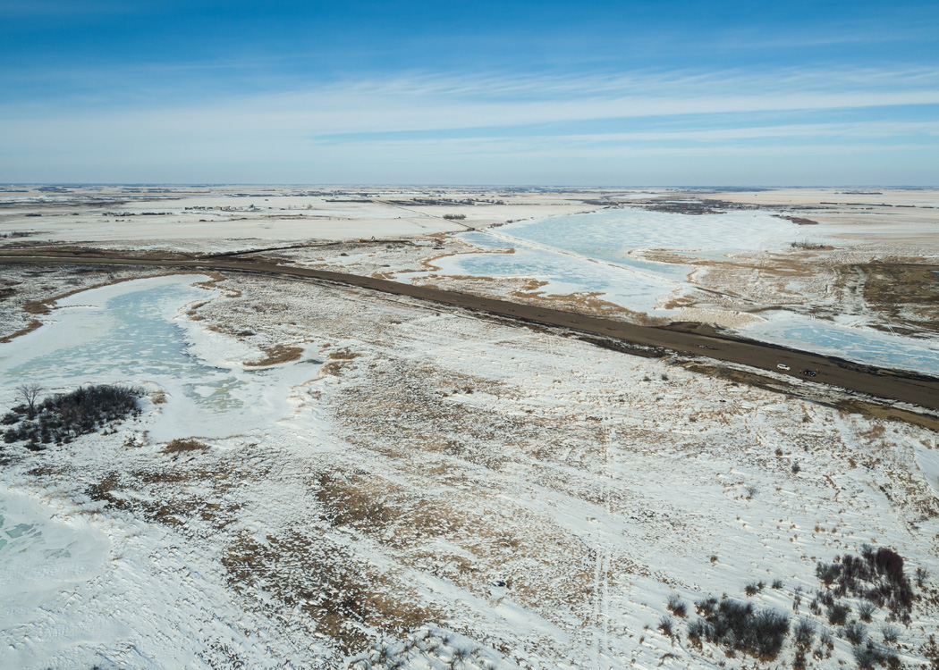 New McOrmond Drive through the Northeast Swale - Mar 14, 2017